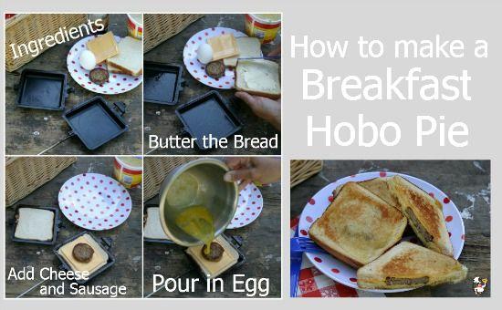 How to make a Breakfast Hobo Pie