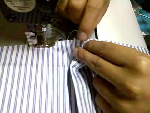 Como Confeccionar Una Camisa Parte 1 (Accesorios de Maquina) - YouTube
