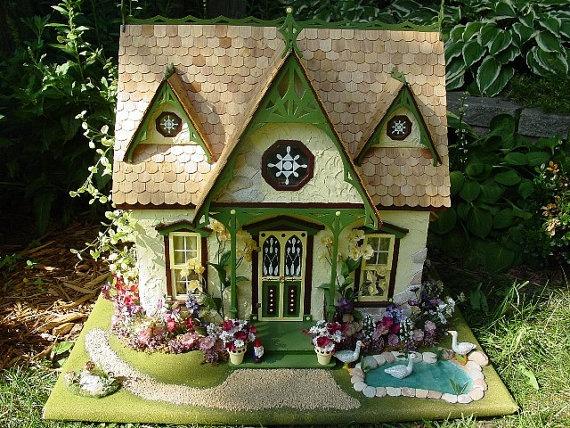 Mother Goose Theme dollhouse :)