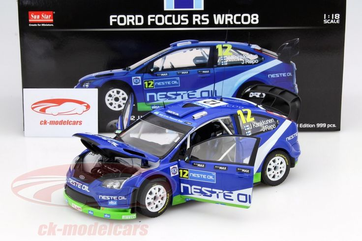 Ford Focus RS WRC08, Rally Finland 2010, No.12, J.Kankkunen / J.Repo. Sun Star Models, 1/18, Limited Edition 999 pcs. Price (2016): 70 EUR.