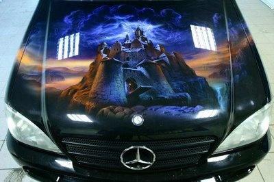 Custom Painted Cars