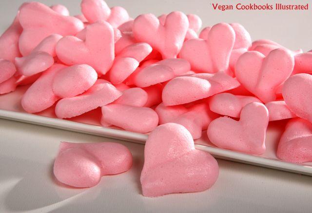 Vegan Meringue Cookies from the cookbook Aquafaba