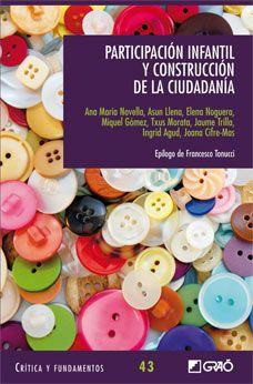 Participación infantil y construcción de la ciudadanía, de varios autores.