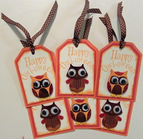 15 best Premade Cards  Tags images on Pinterest Gift ideas, Gift - halloween gift bag ideas