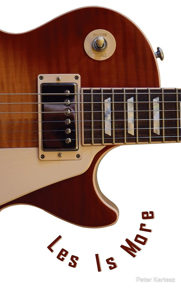 Les Is More-Les Paul Gibson Electric Guitar by Peter Kertesz