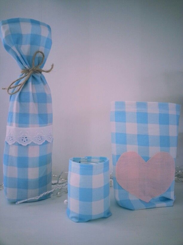Gift that is easy to sew:) Vine bag, candy bag and a smal light bag:)