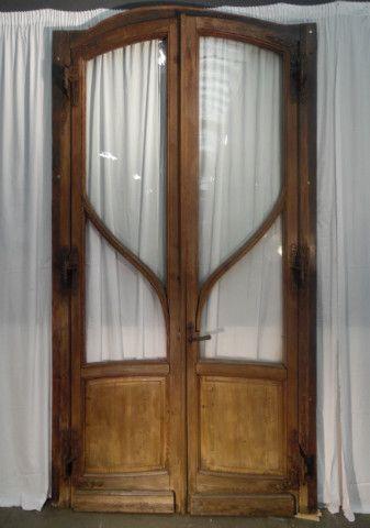 2 DOORS ART NOUVEAU IN OAK - 03 Portes - 01 Cheminées et décorations - Nord & 14 best Boiserie de style Louis 16 images on Pinterest | Beautiful ... pezcame.com
