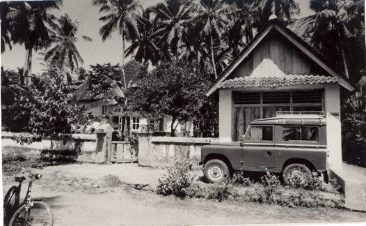 Anthony Forge's Home in Kamasan, 1973