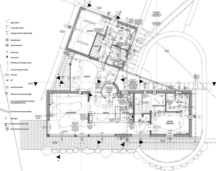 Construction Drawings Plan Arch Pinterest