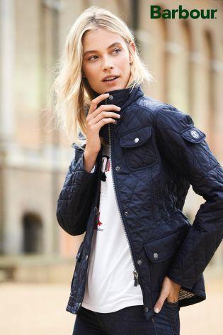 Buy Barbour® Navy Buryhead Quilt Jacket from the Next UK online shop