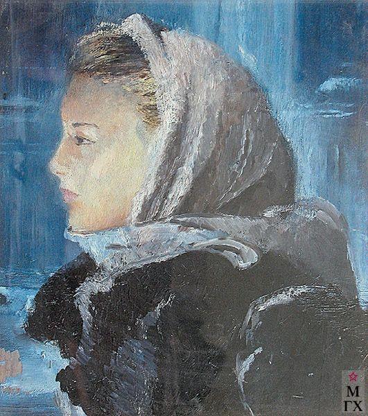 Pimenov, Yuri Ivanovich (1903-1977). Юрий Пименов (1903-1977). У решетки