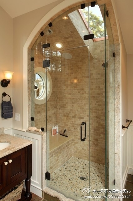 nice shower place