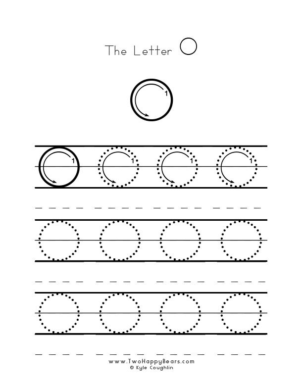 practice worksheet for writing the letter o upper case with several connect the dots examples. Black Bedroom Furniture Sets. Home Design Ideas