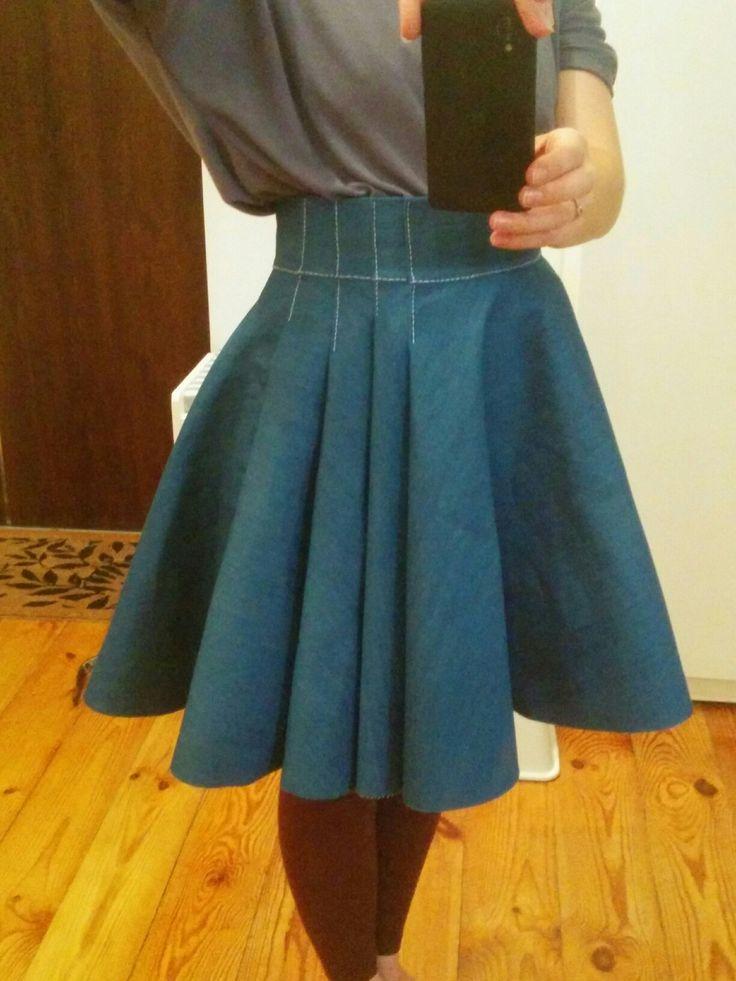 Blue skirt Work in progress