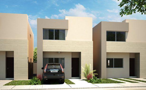 Arquitectura casa residencia fachada construccion for Disenos de fachadas de casas pequenas