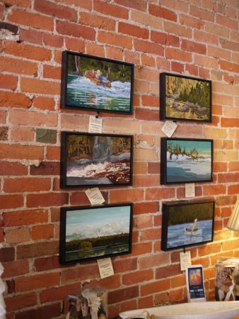ORIGINAL oil paintings by our very own Dave Conning.  Take a look at his work at http://www.davidconning.com/