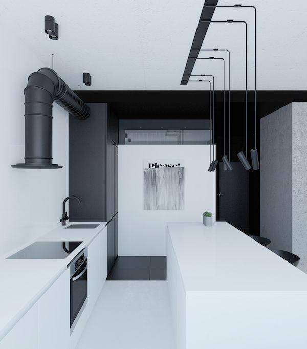 A ligt and industrial apartment in Kiev, Ukraine | Vosgesparis | Bloglovin'