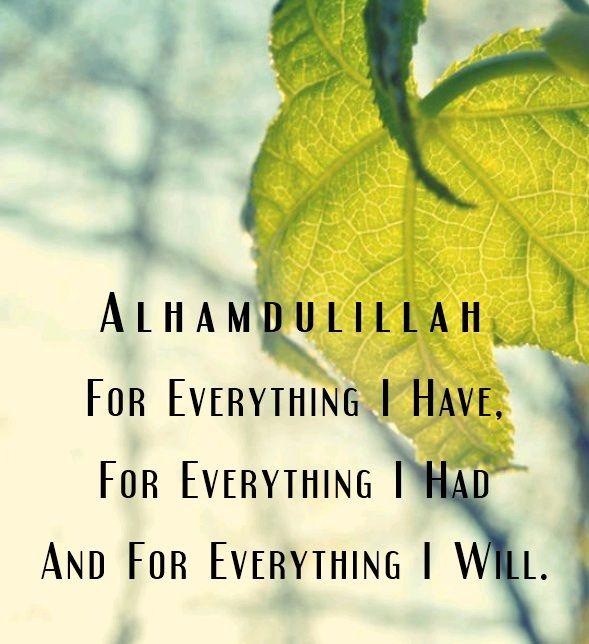30 best alhamdulillah images on pinterest alhamdulillah allah alhamdulillah for everything thecheapjerseys Images