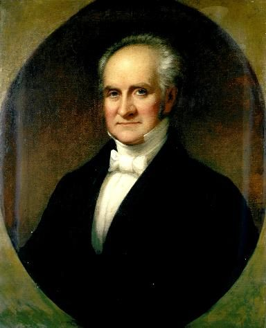 "George Peabody (1795-1869) was a financier and philanthropist. He established the Peabody Institute in Baltimore. He also lived in London and was only one of two Americans to have been honored with the ""Freedom of the City of London"" medal."