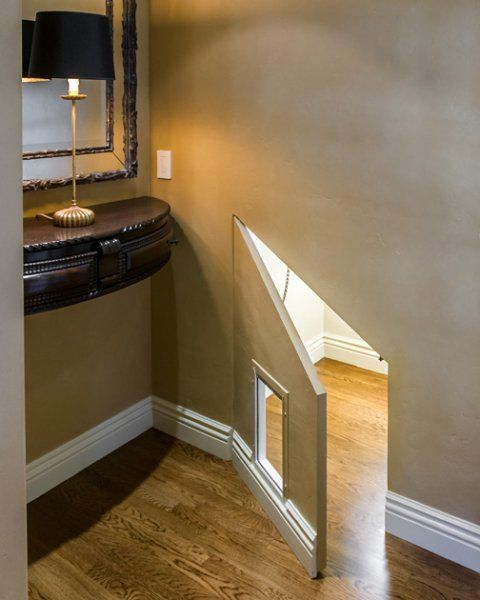 Best 25 dog spaces ideas on pinterest dog rooms dog gate with door and custom dog gates - Litter boxes for small spaces paint ...