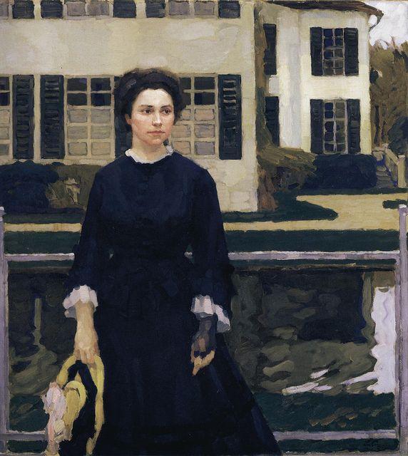 Leo Putz Frieda Blell, 1907