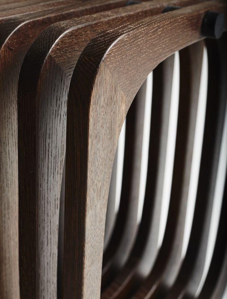 Smoked oak. #Handmade #cabinetmaker #wood http://www.kjeldtoft.com/