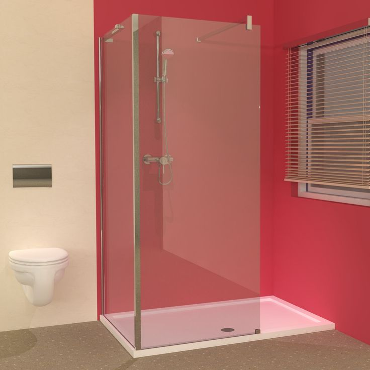 Best Walk In Showers Uk Part - 32: Bathroom Showering Designs - Line Tray And Walk In Shower Glass Panels