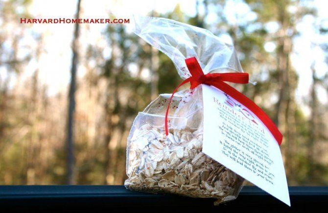 Reindeer Food: Perfect Class Project or Party Favor - Harvard Homemaker