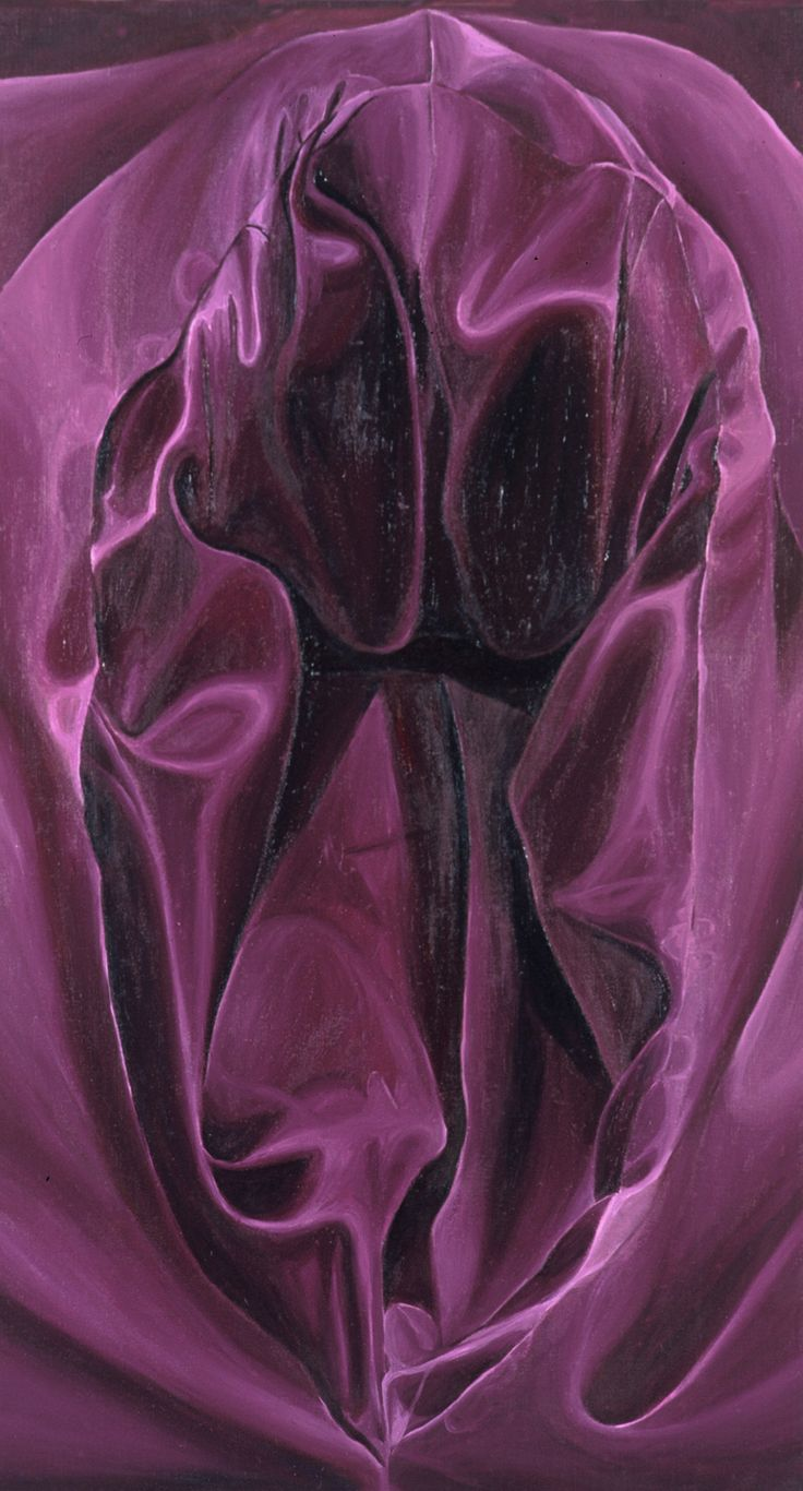Amanda Robins, Hypochondria Series (Burgundy) 2000, oil on linen