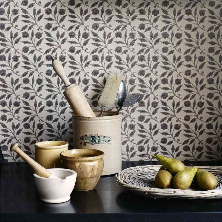 ... Is A Clever Interpretation Of An Original Glazed Tile Wall. The Pretty  Motifs, Hand Cut And Printed From Lino, Give An Authentic, Block Printed  Look.