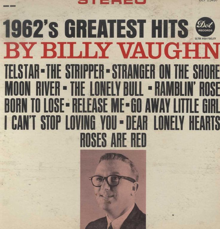 Billy Vaughn - 1962's Greatest Hits