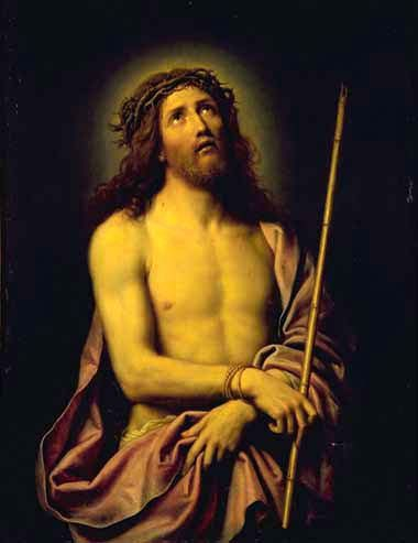 19 MIGNARD LE CHRIST AU ROSEAU TOULOUSE AUGUS.jpg - 19 Mignard Le Christ Au Roseau Toulouse Musée des Augustins