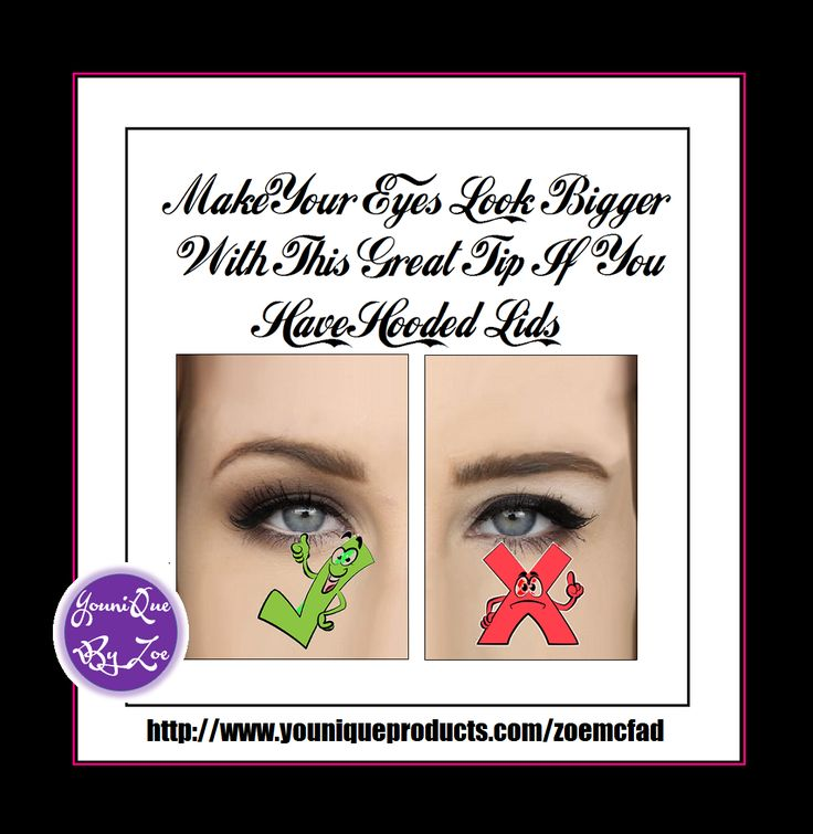 use this simple tip if you have hooded eyes to make your eyes look bigger #younique #australia #newzealand #germany #france #spain #canada #usa #uk #mexico #hongkong #makeuptip #beautytip
