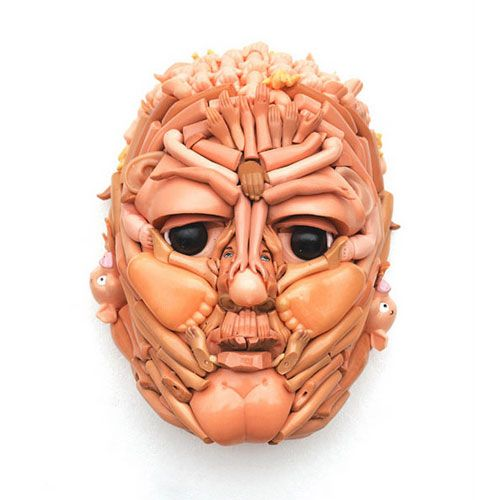 Juxtapoz Magazine - Plastic Doll Faces by Freya Jobbins