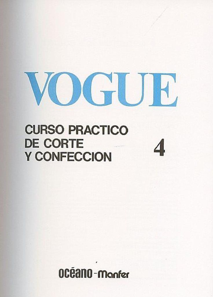 ISSUU - vogue curso practico corte y confeccion de Nerea Esteban
