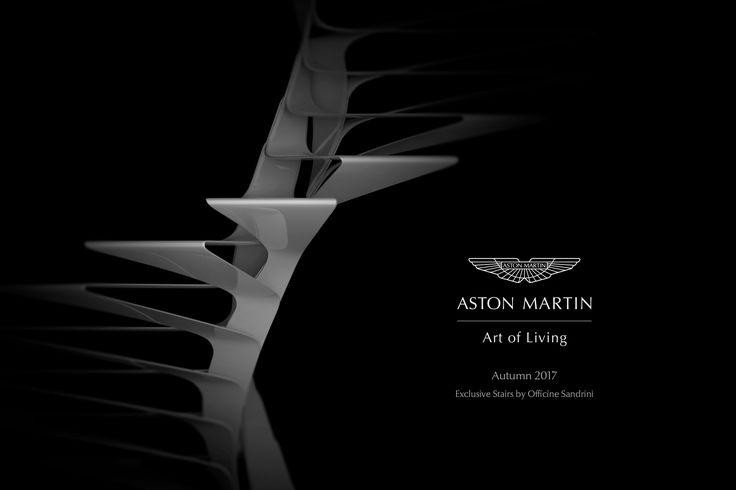 scala elicoidale prodotta in collaborazione con Aston Martin e Nyxo Studio.