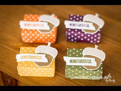 Anleitung / Tutorial Mini-Box mit dem Envelope Punch Board und Stampin' Up! - YouTube