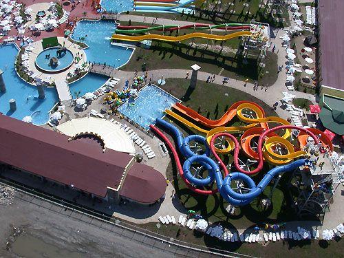Bulgáriában a Naposparton egy izgalmas aquapark vár minket :)