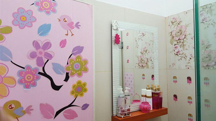 My pink bathroom
