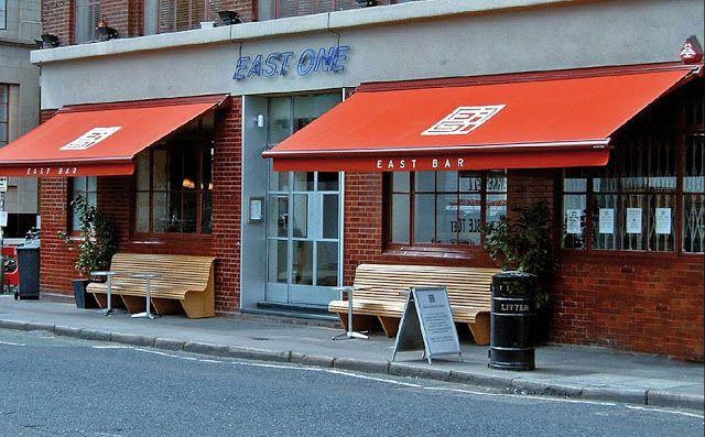 Canopy Kain cafe warna merah