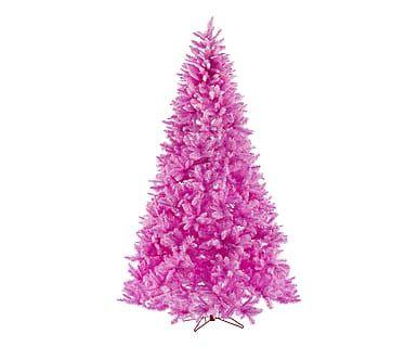 Albero artificiale in PVC Lucrezia rosa