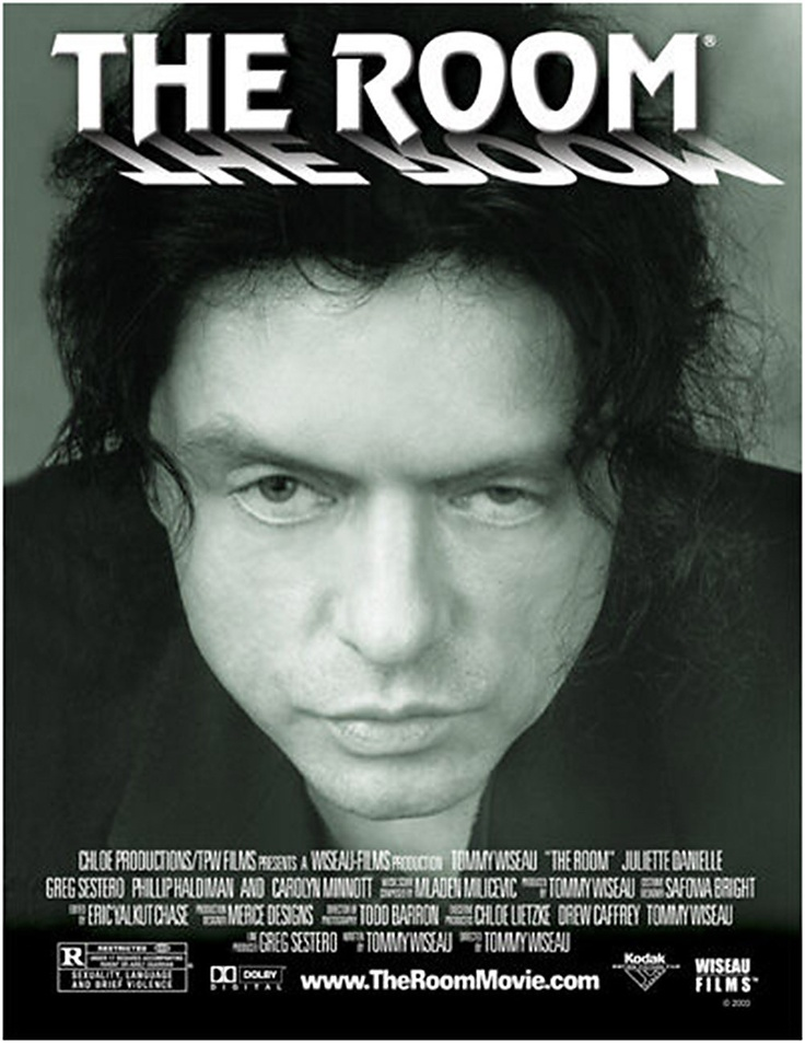 The Room, by Tommy Wiseau. A movie that is like cleaning