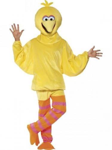 Sesame Street Big bird costume  Disfraz de Gallina Caponata adulto. Sesame street
