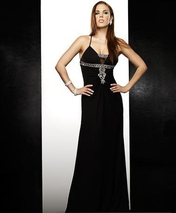 Sexy and Beautiful Satin Long Prom/Evening Dress 3109