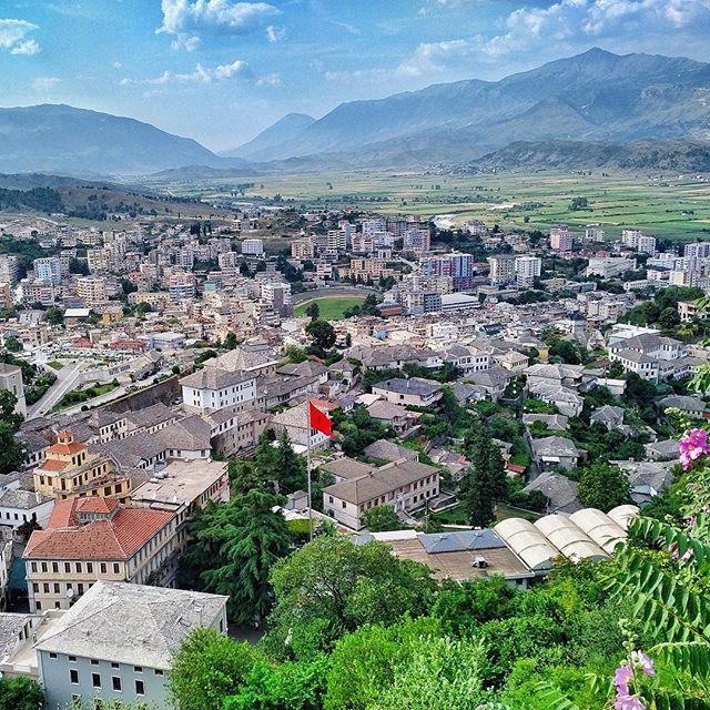 Birthplace of former Albanian communist leader, Enver Hoxha - Gjirokastra…
