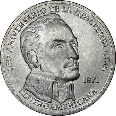 Moneta 20 balboas in argento 1971