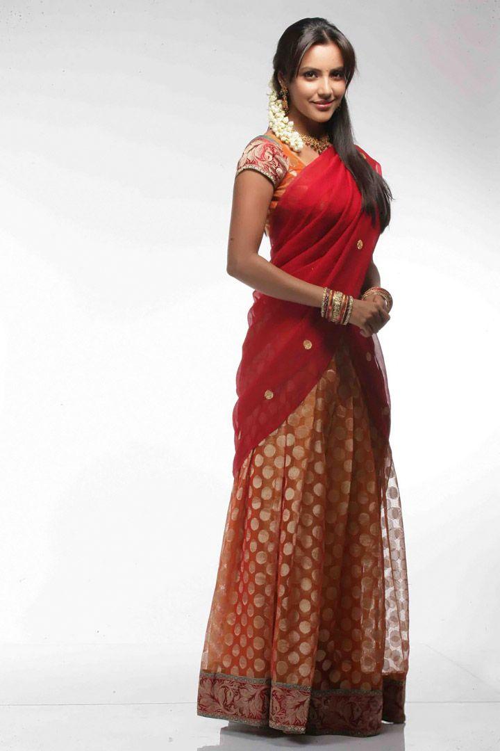 indian dresses- half saree