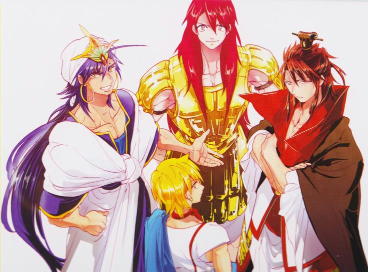 MAGI The Labyrinth Of Magic Magi