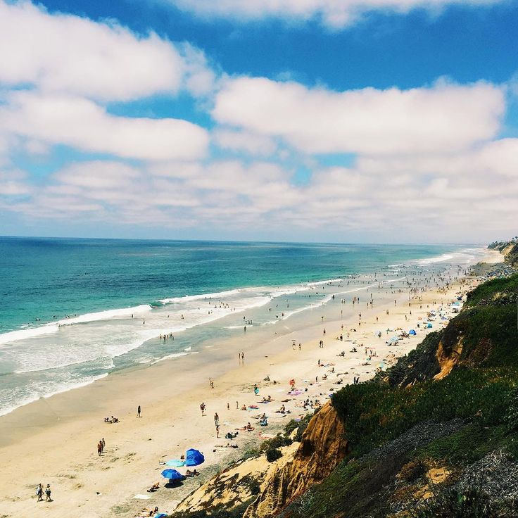 Moonlight Beach, Encinitas. This is my favorite beach in So Cal, I used to go every day!