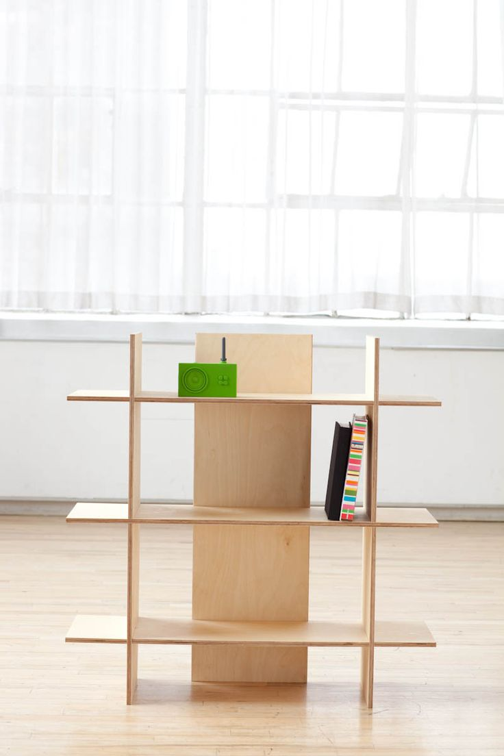 how to build plywood shelves